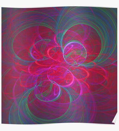 Orbital fractals Poster