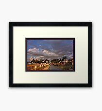 Welcome to St. Pete Beach Framed Print