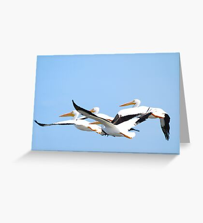 Driving A Mile High Greeting Card