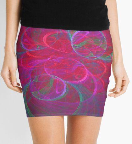 Orbital fractals Mini Skirt