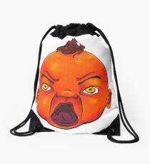 Angry Baby Drawstring Bag