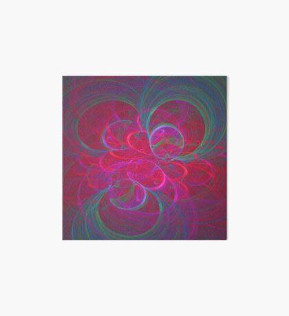 Orbital fractals Art Board Print