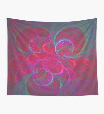 Orbital fractals Wall Tapestry