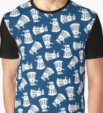 Doctor Who Dalek Pattern Graphic T-Shirt