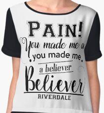 Riverdale - Believer - Imagine Dragons Chiffon Top