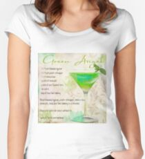 Cocktail Quartet Green Angel Women's Fitted Scoop T-Shirt