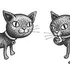« Chats » par Carole Bielicki