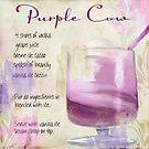 Cocktail Quartet Purple Cow by mindydidit