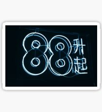 88 rising Sticker