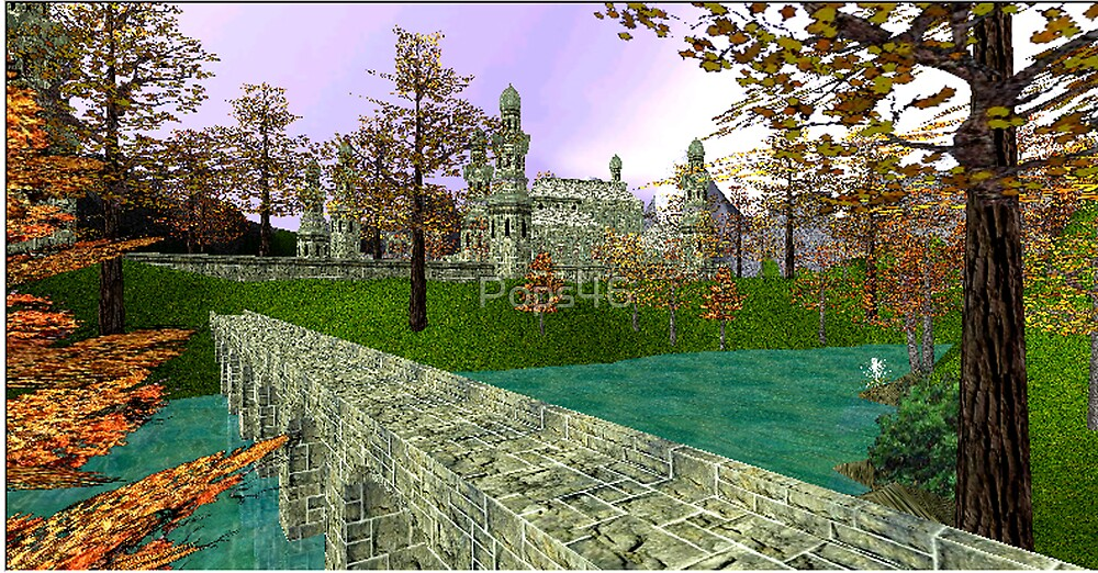 Approach to Rivendell by Pops46