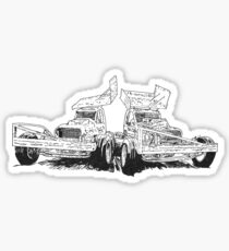 BriSCA Heritage Racing Sticker