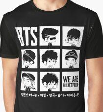 BTS WE ARE BULLETPROOF Chibi Graphic T-Shirt