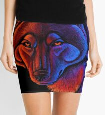 Fire Wolf Mini Skirt