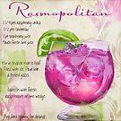 Cocktail Quartet Rasmopolitan by mindydidit