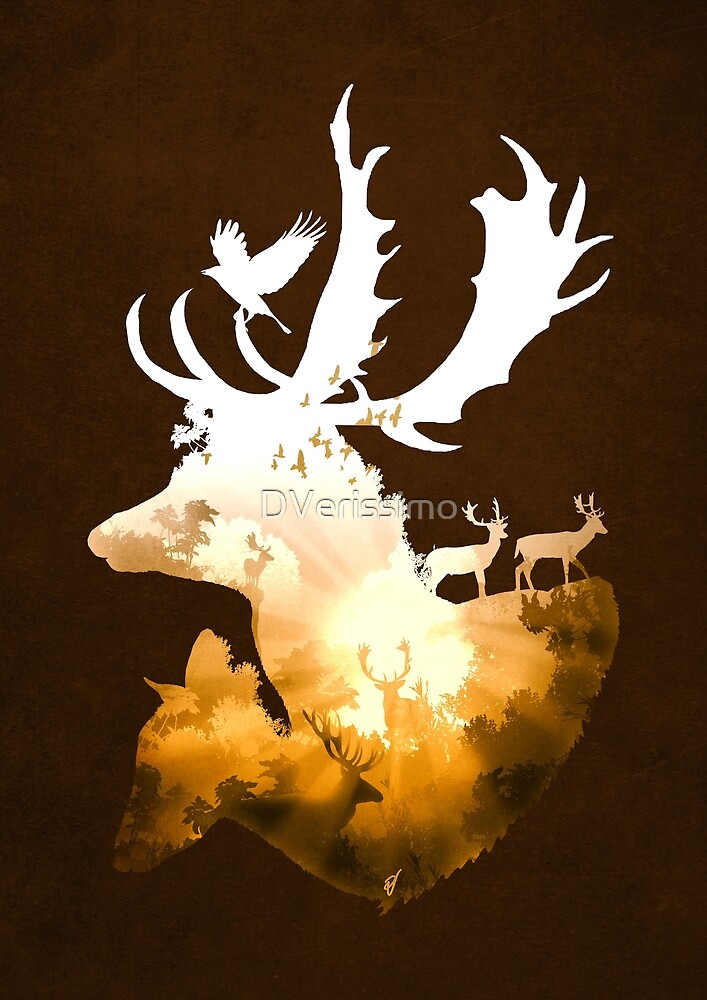 Deer Autumn by DVerissimo