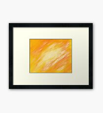 Abstract colorful acrylic painting Framed Print