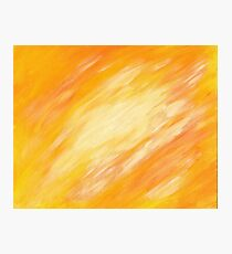 Abstract colorful acrylic painting Photographic Print