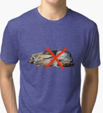 NO RABBIT BUNNY  Tri-blend T-Shirt