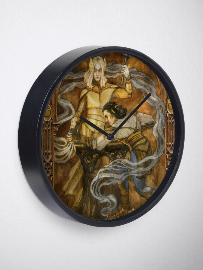 Alternate view of Annatar and the craft of ring-making Clock