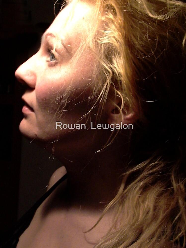 Selfportrait by Rowan  Lewgalon