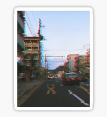 Kyoto Japan Street  Sticker