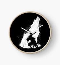 Abyss Warrior Clock