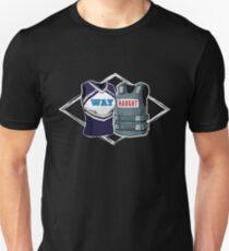 Wayhaught Uniforms - Dark Background Unisex T-Shirt