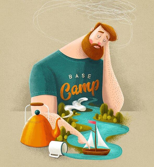 « Camp de base » par seasidespirit