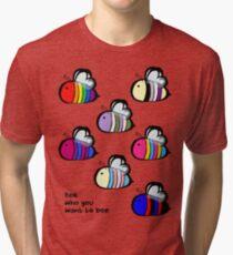 LGBT Pride Bee Swarm Tri-blend T-Shirt
