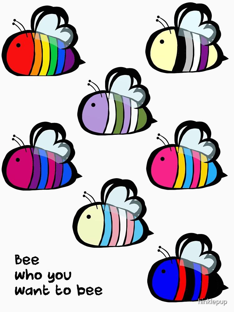 LGBT Pride Bee Swarm by hinklepup