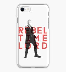 Rebel Time Lord iPhone Case/Skin