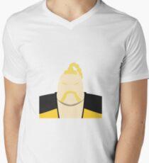 Rufus Vector Men's V-Neck T-Shirt