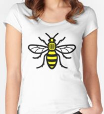 Manchester Bee - High Quality Women's Fitted Scoop T-Shirt
