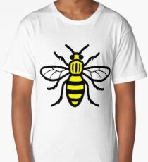 Manchester Bee - High Quality Long T-Shirt