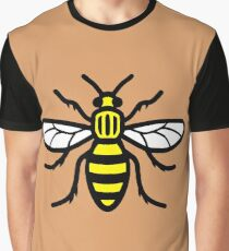 Manchester Bee - High Quality Graphic T-Shirt