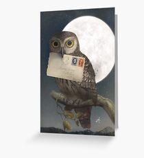 Owl Post  Greeting Card