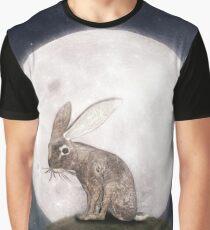 Night Rabbit Grafik T-Shirt