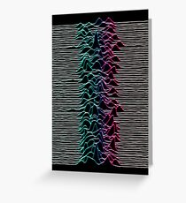 Joy Division Greeting Card