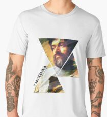 Terence McKenna Prism Psychedelic Variation 2 Graphic Art Men's Premium T-Shirt