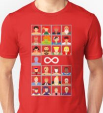 Select Your Character - Street Fighter 4 T-Shirt