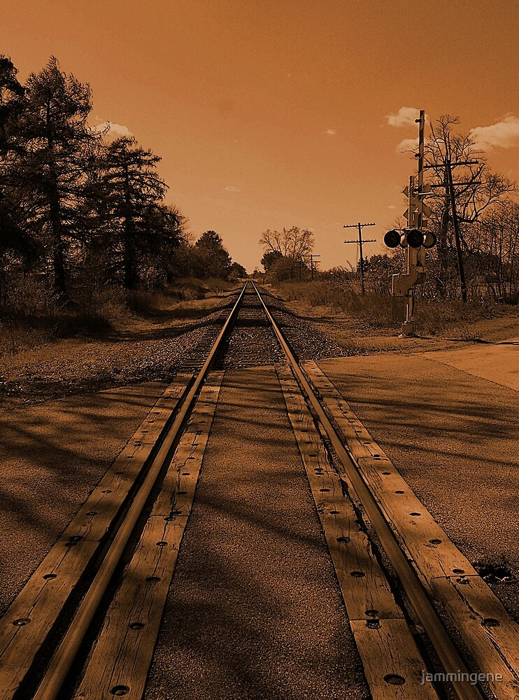 Put me on a train mama..This place just ain't the same no more..I'm leavin' today..There's a life out there and it's gonna be mine by jammingene