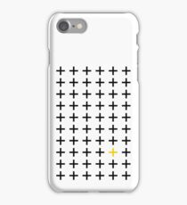 Minimalist Swiss Cross iPhone Case/Skin