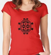 Mandala 11 Back In Black Women's Fitted Scoop T-Shirt