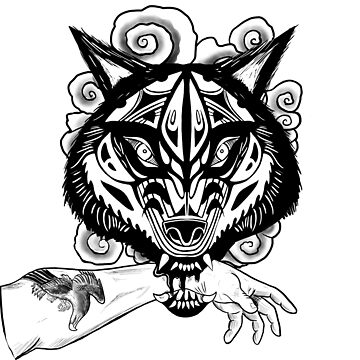 Wolf lock by Nynrafa