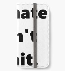 CLIMATE CAN'T WAIT iPhone Wallet/Case/Skin