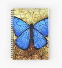 Morpho Didius  Spiral Notebook