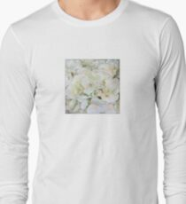 Abstract - Floral Neutral - All Over Print Long Sleeve T-Shirt