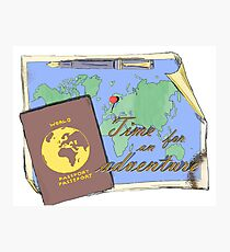 Time for an Adventure Photographic Print