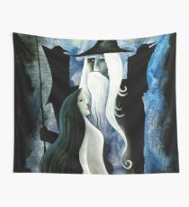 Odin and Frigga Wall Tapestry