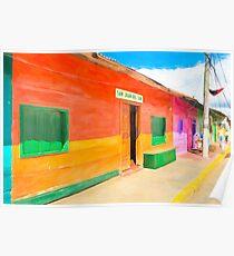 Vibrant Tropical Colors Of Nicaragua - San Juan del Sur Poster